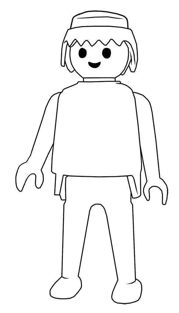dessin playmobil