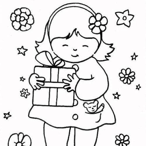 dessin pour bébé fille