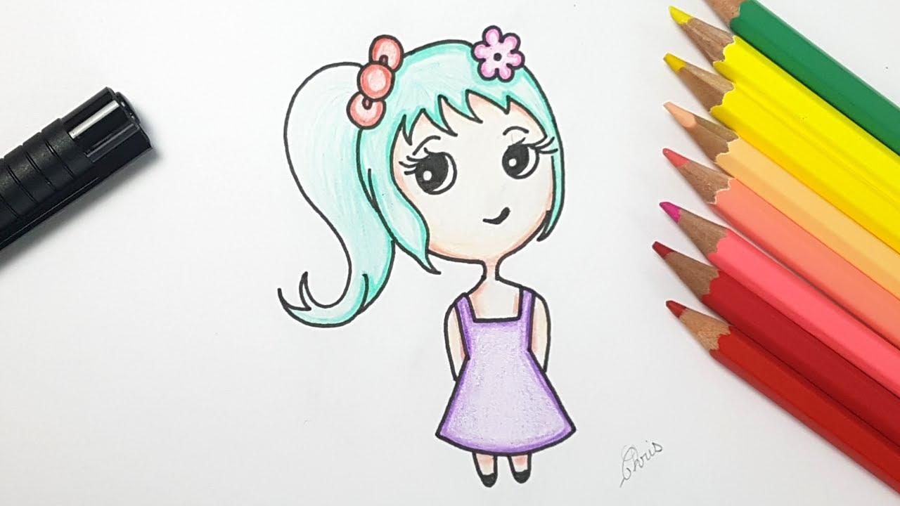 dessiner une fille
