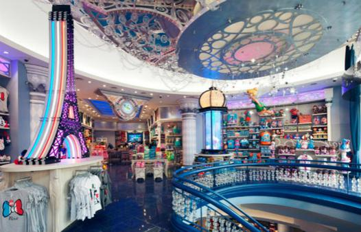 disney store paris horaire