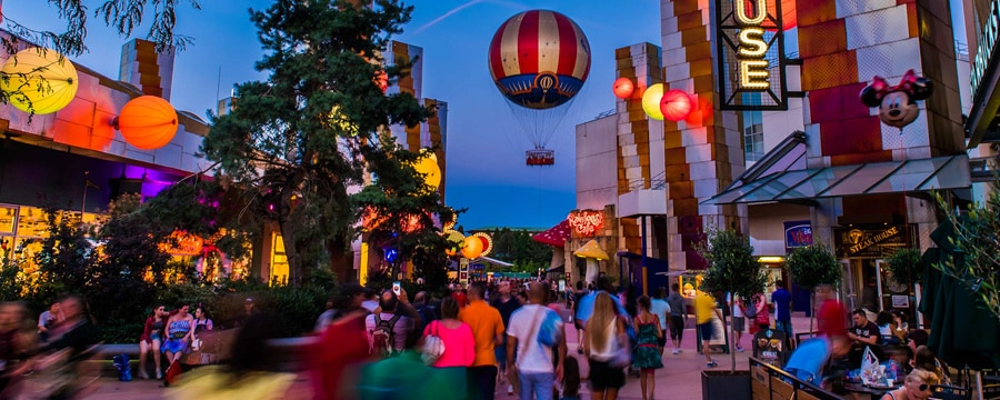 disney village paris