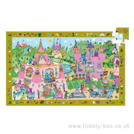 djeco princess puzzle