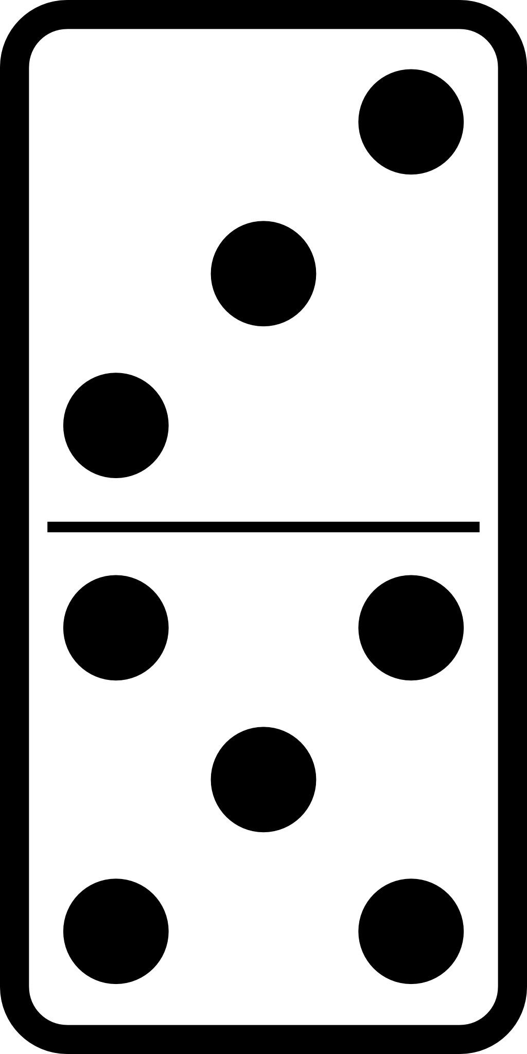 domino dessin