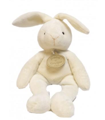 doudou et compagnie lapin blanc