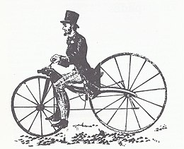 draisienne a pedale