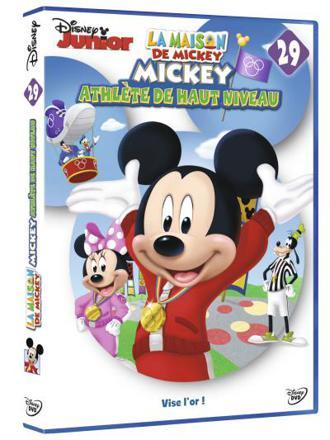 dvd maison de mickey