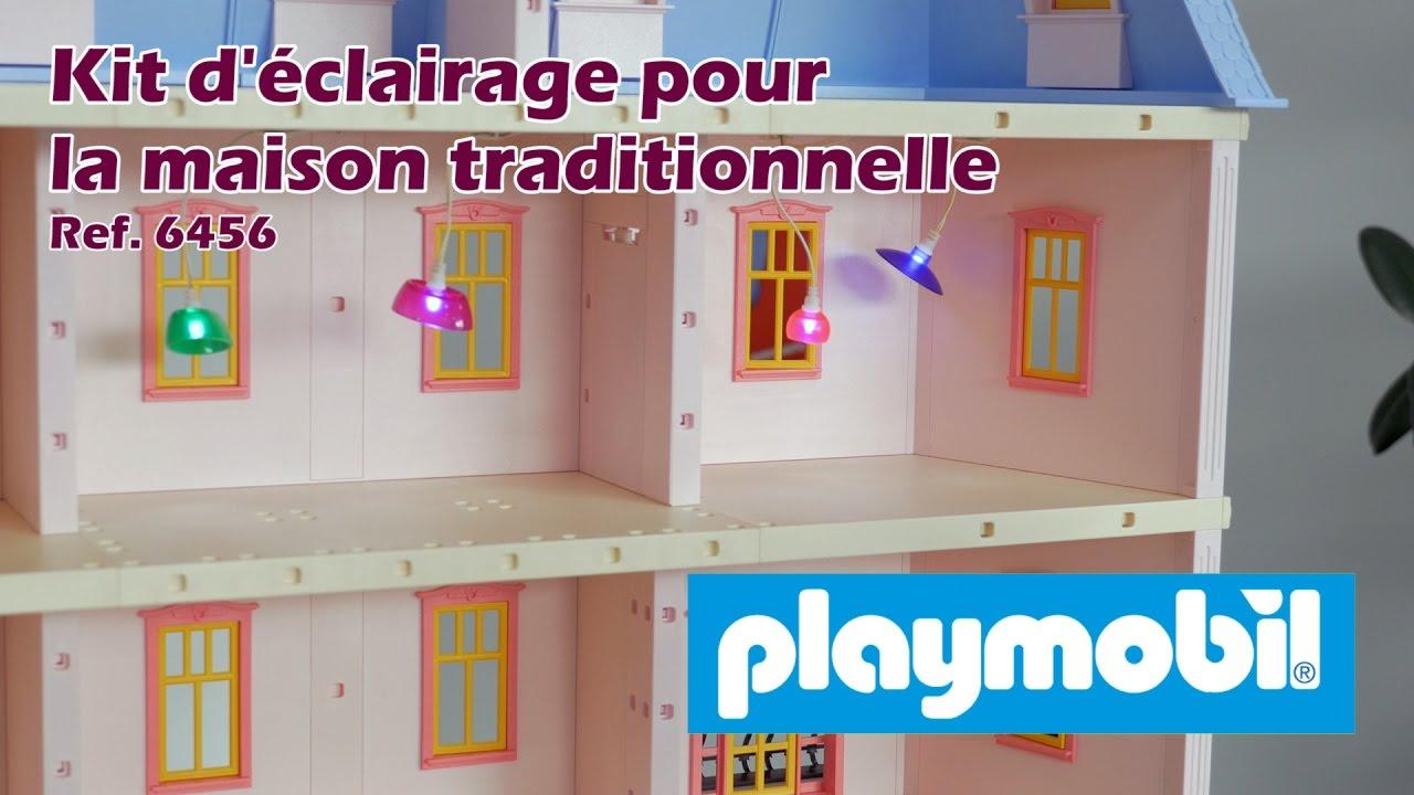 eclairage maison playmobil