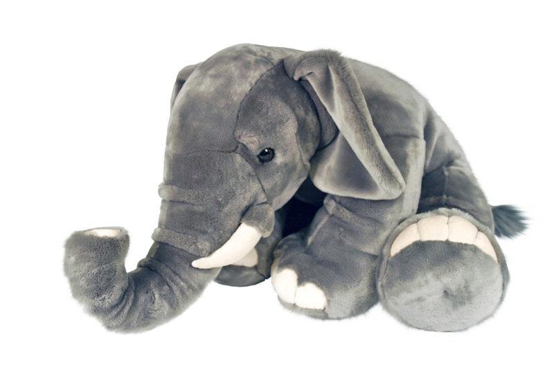 elephant peluche geant