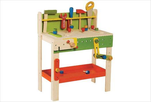 établi bois jouet