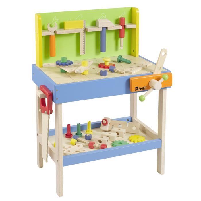 etabli en bois pour enfant