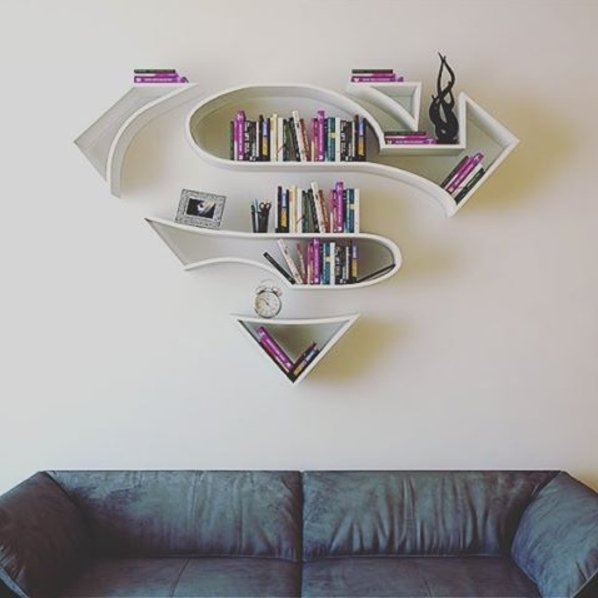 etagere superman