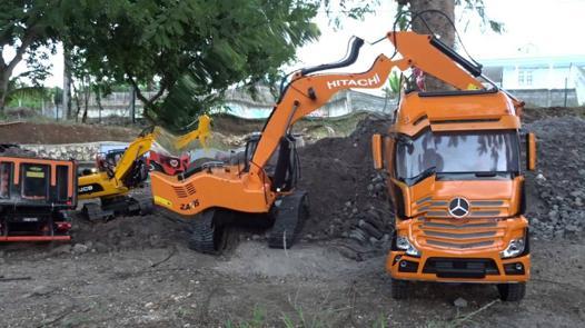 excavatrice rc