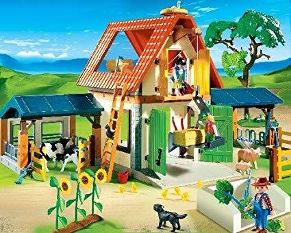 ferme playmobil 4490