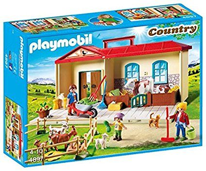 ferme playmobil transportable