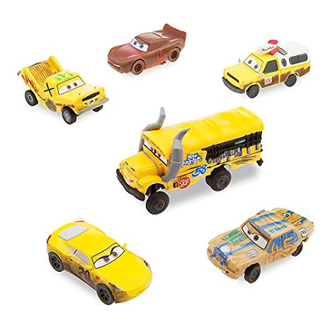 figurine cars 3