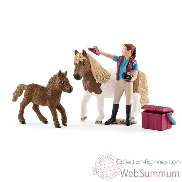figurine de chevaux schleich