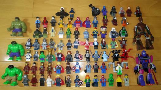 figurine lego avengers