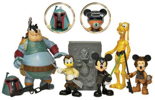 figurine mickey star wars