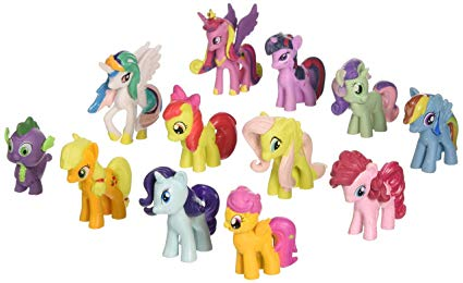 figurine my little pony
