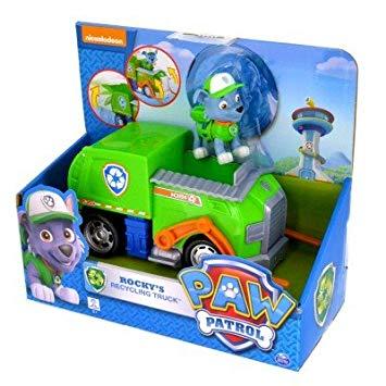 figurine pat patrouille avec vehicule