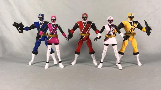 figurine power rangers ninja steel