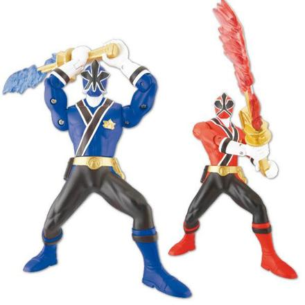 figurine power rangers samurai
