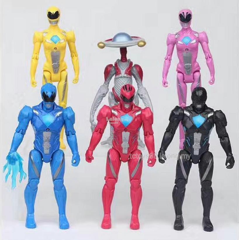 figurine power rangers
