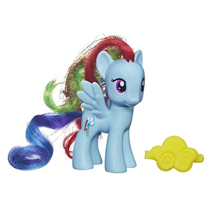 figurine rainbow dash