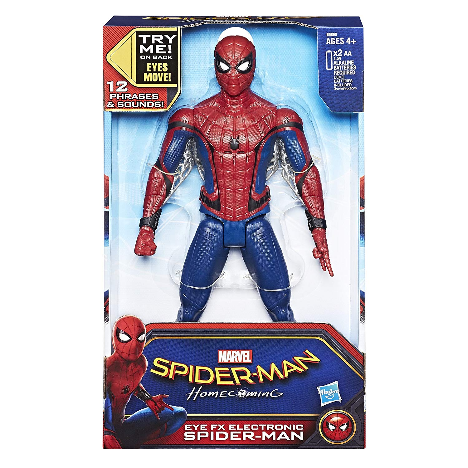 figurine spiderman electronique