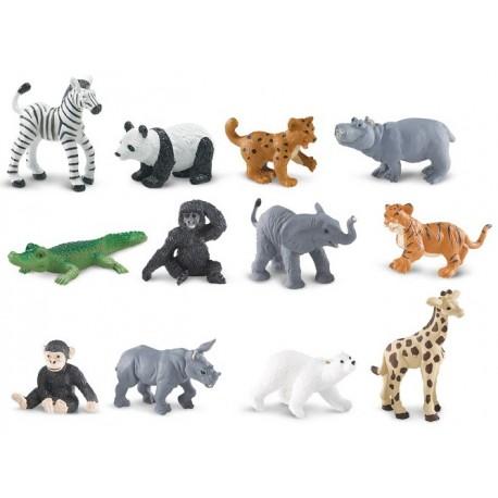 figurines animaux du zoo
