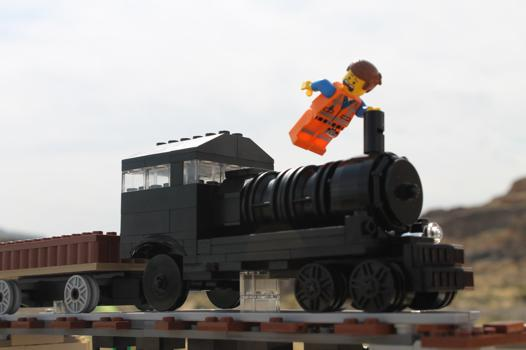 film train lego