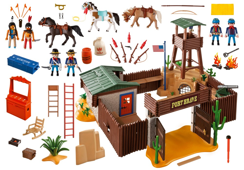 fort brave playmobil
