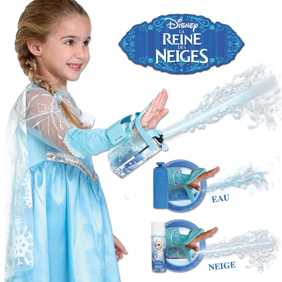 gant lance neige reine des neiges