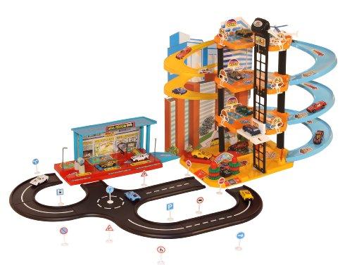 garage de voiture jouet
