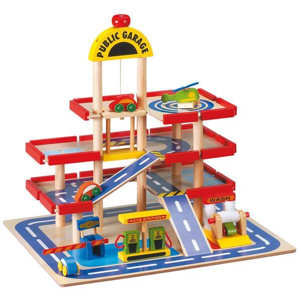 garage en bois pour enfant