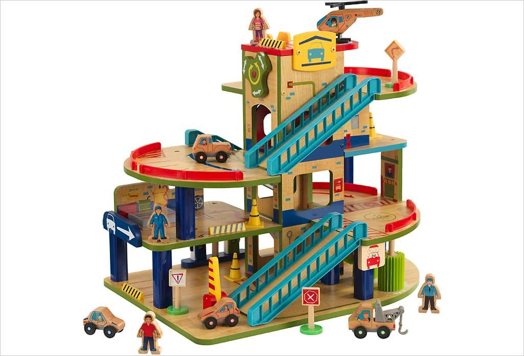 garage jouet enfant