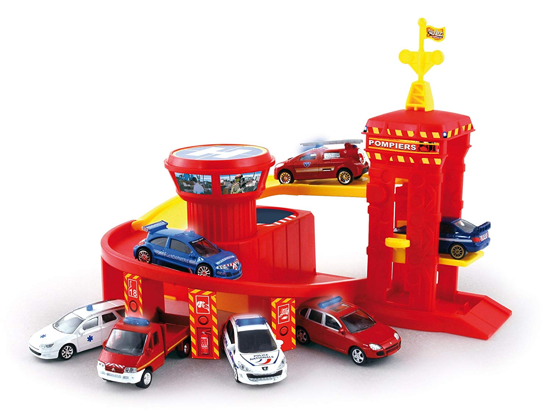 garage pompier