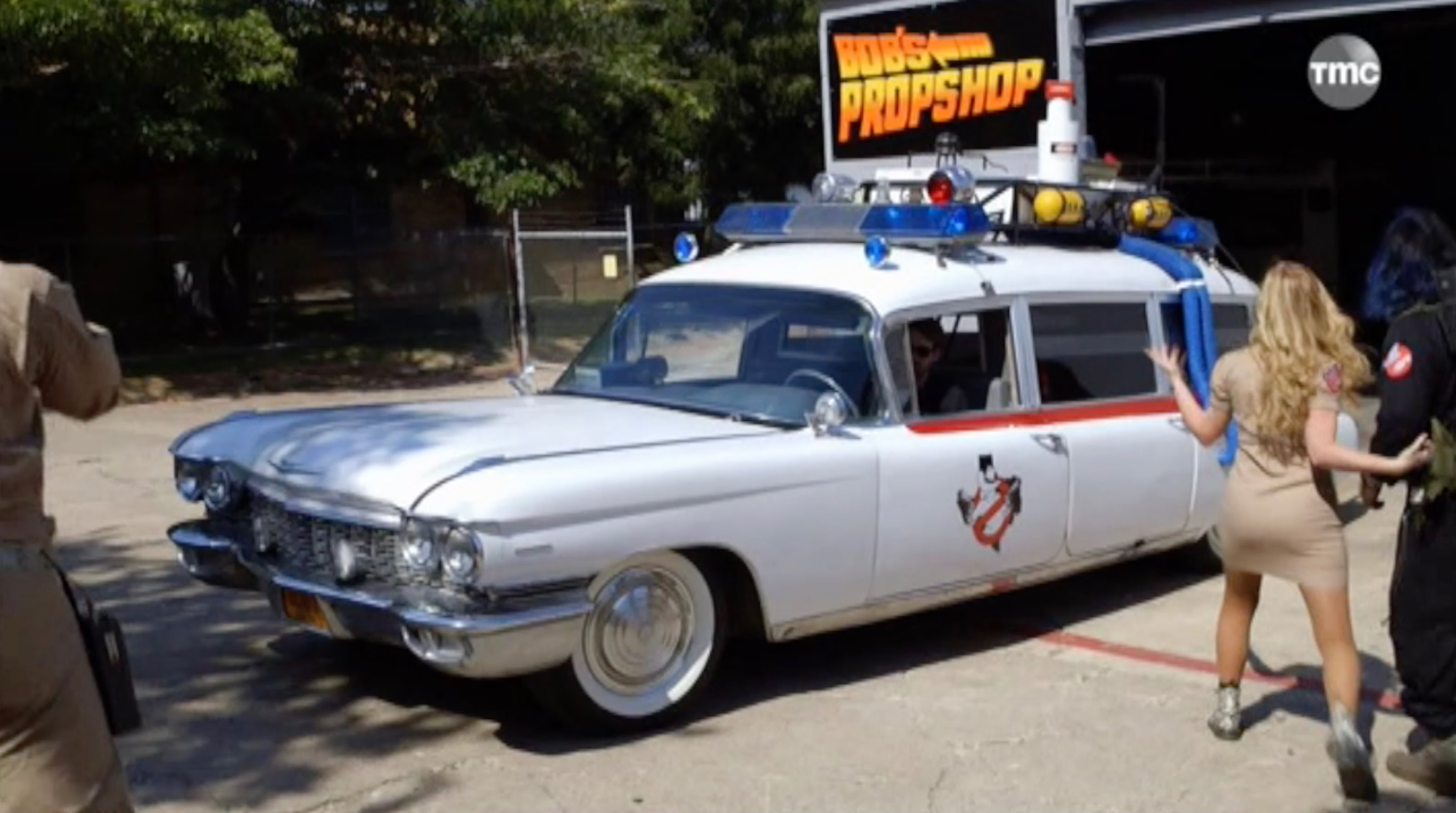 ghostbuster voiture