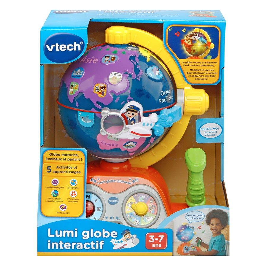 globe interactif vtech