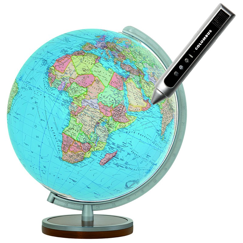 globe terrestre electronique