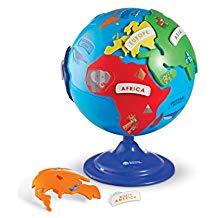 globe terrestre enfant