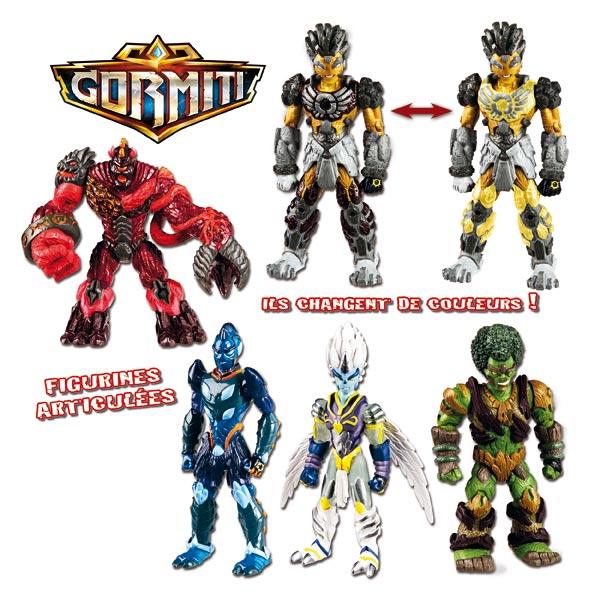 gormiti figurine jouets