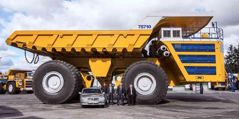 gros camion de chantier