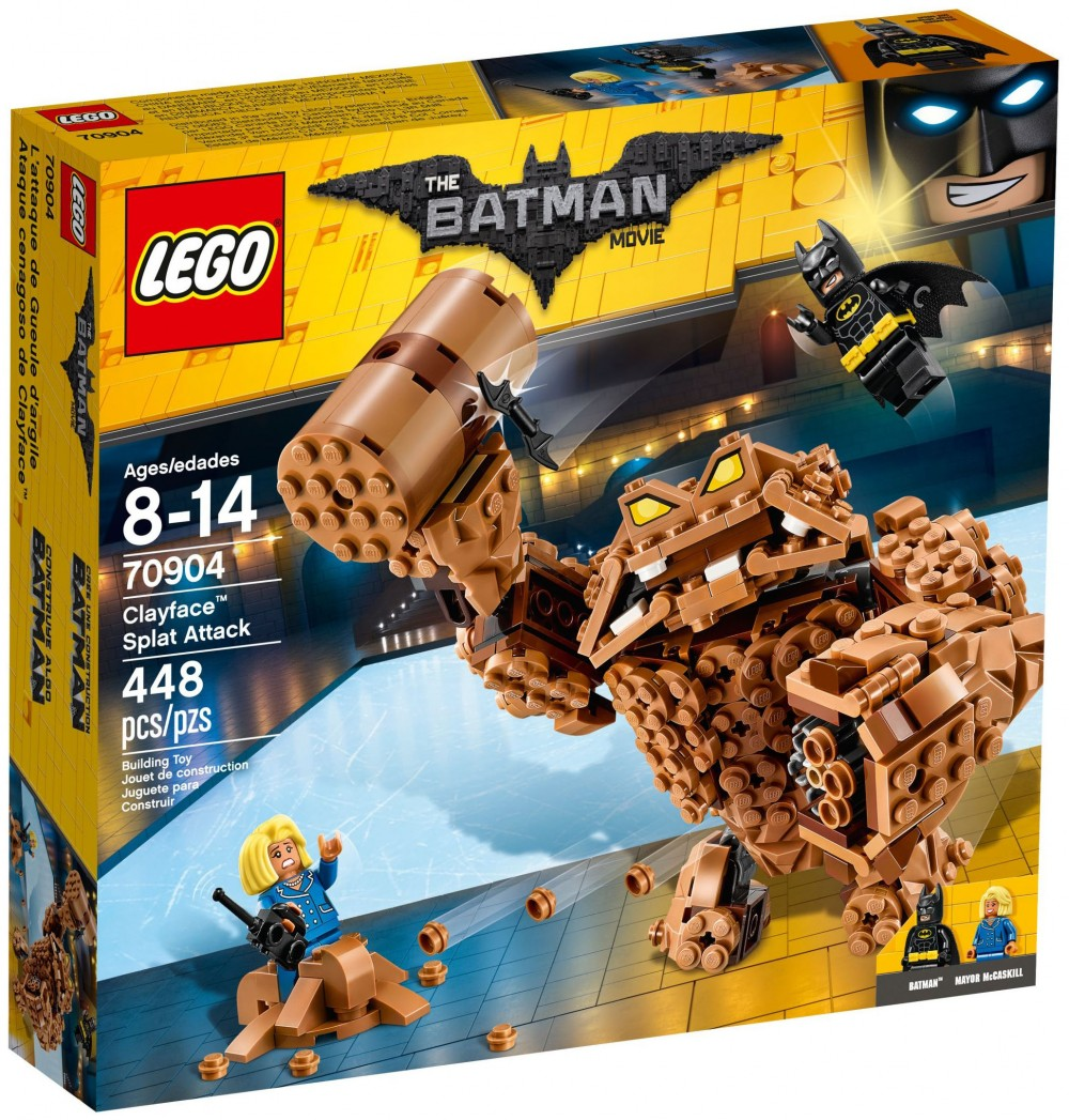 gueule d argile lego batman