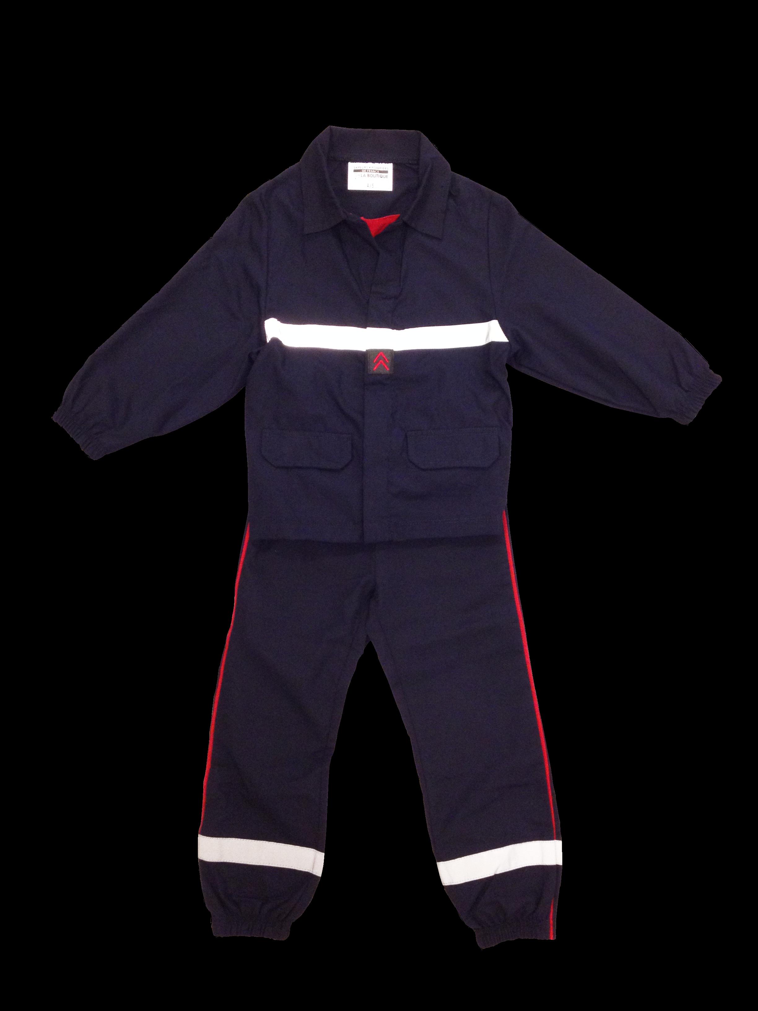 habit pompier enfant
