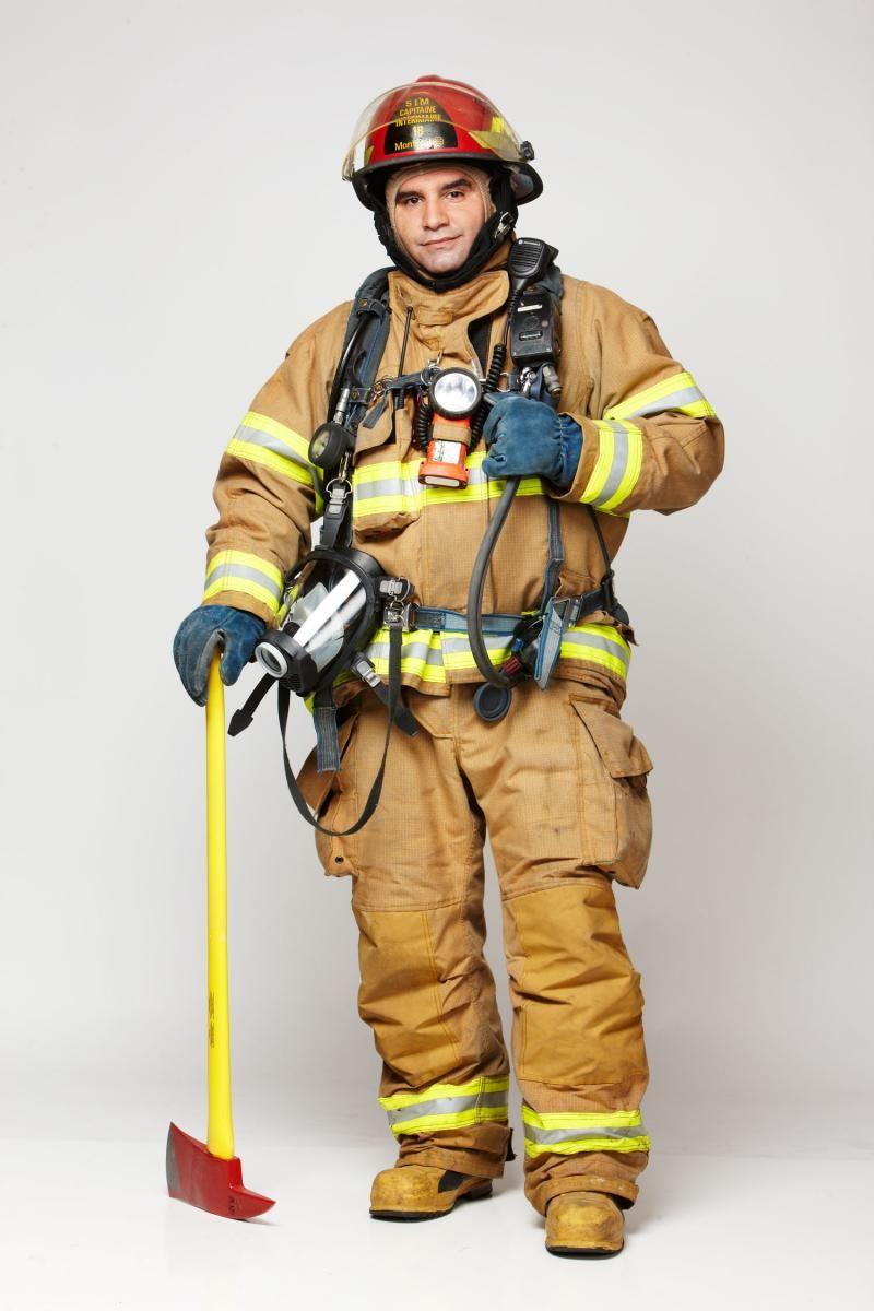 habit pompier