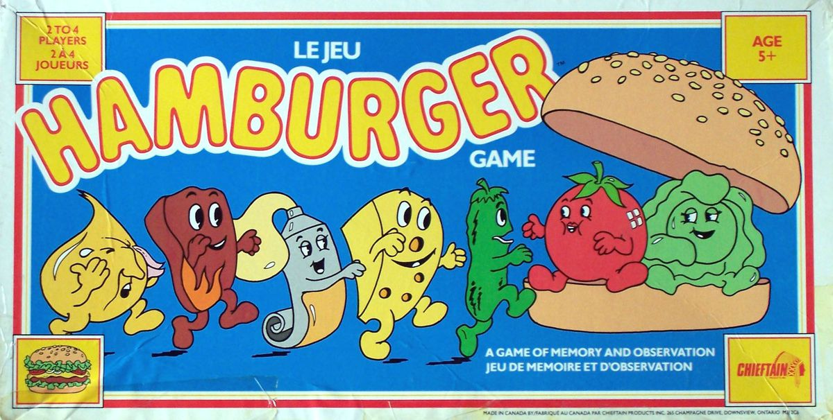 hamburger jeux