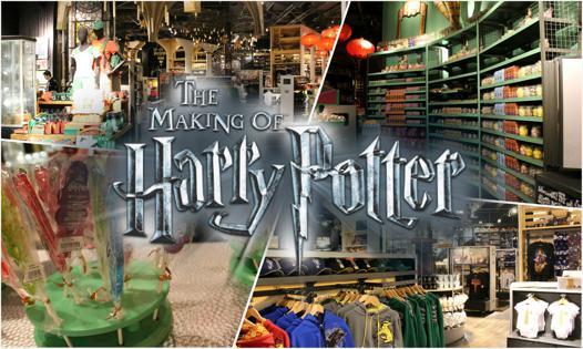harry potter boutique officielle