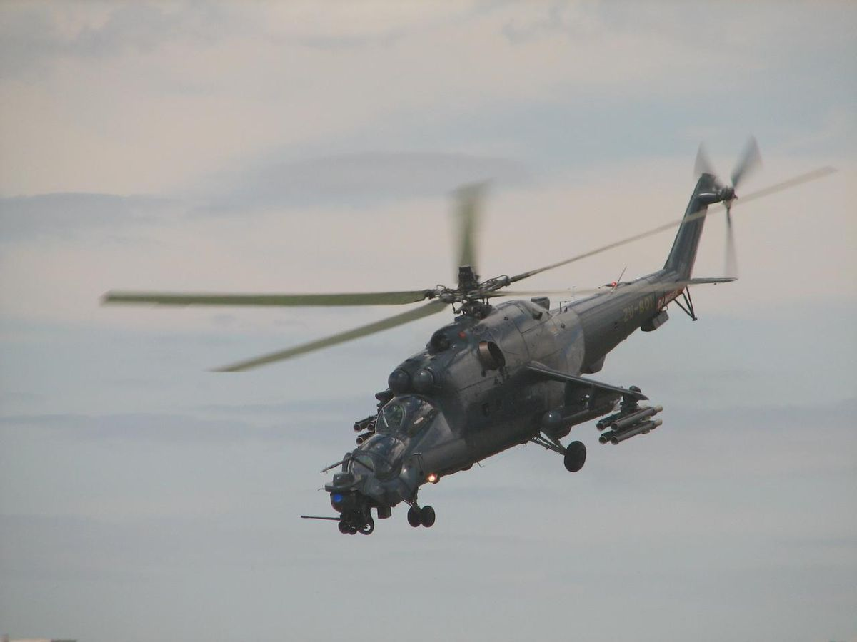 helicoptere de guerre
