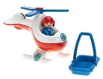 helicoptere playmobil 123